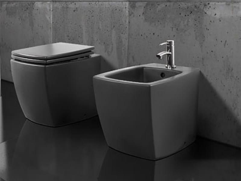 Arredo bagno completo in ceramica square a e t italia - Arredo bagno black friday ...