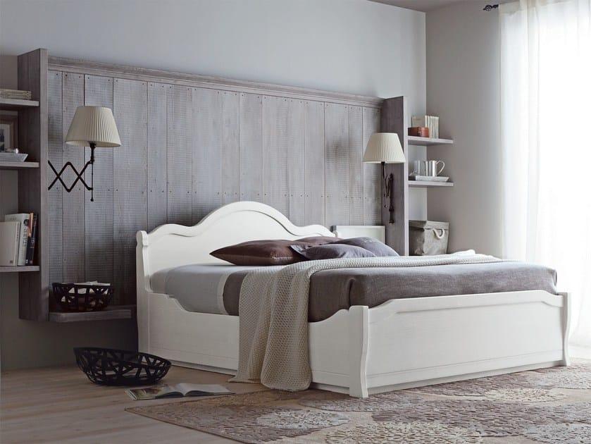 Wooden bedroom set NUOVO MONDO N08 by Scandola Mobili
