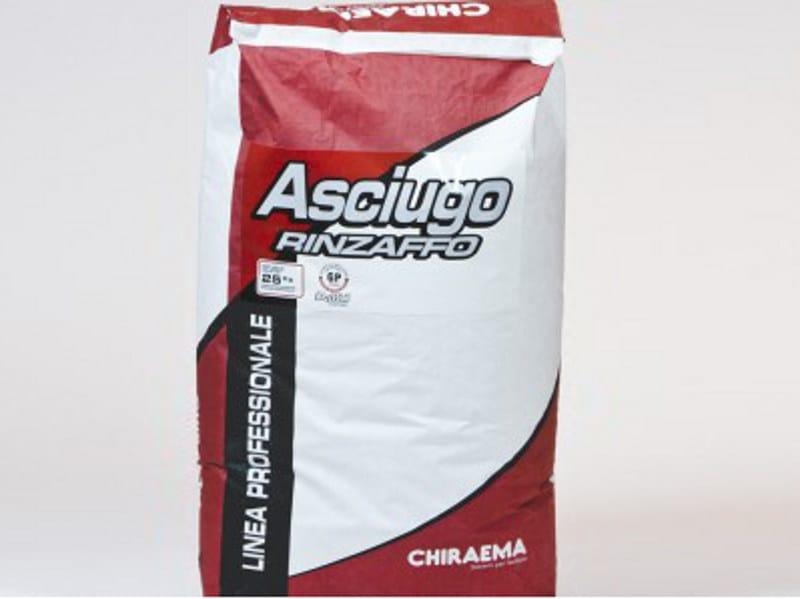 Dehumidifying plaster ASCIUGO RINZAFFO - CHIRAEMA