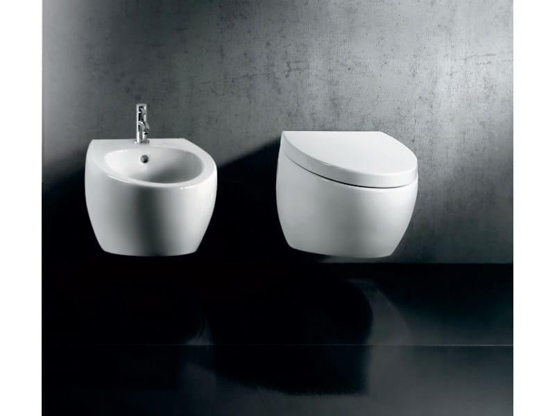 Arredo bagno completo in ceramica oval by a e t italia - Arredo bagno italia ...