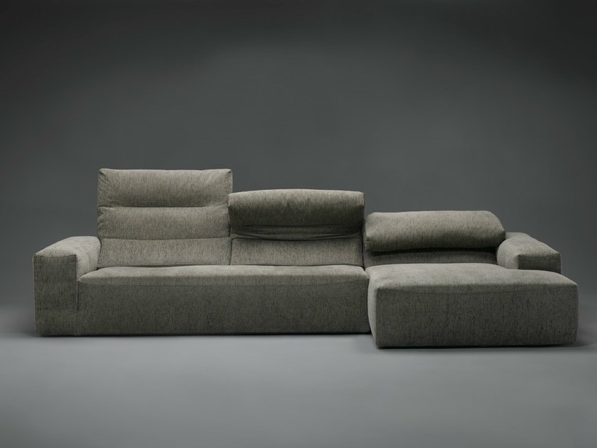 Sectional high-back sofa TOBOS by mminterier