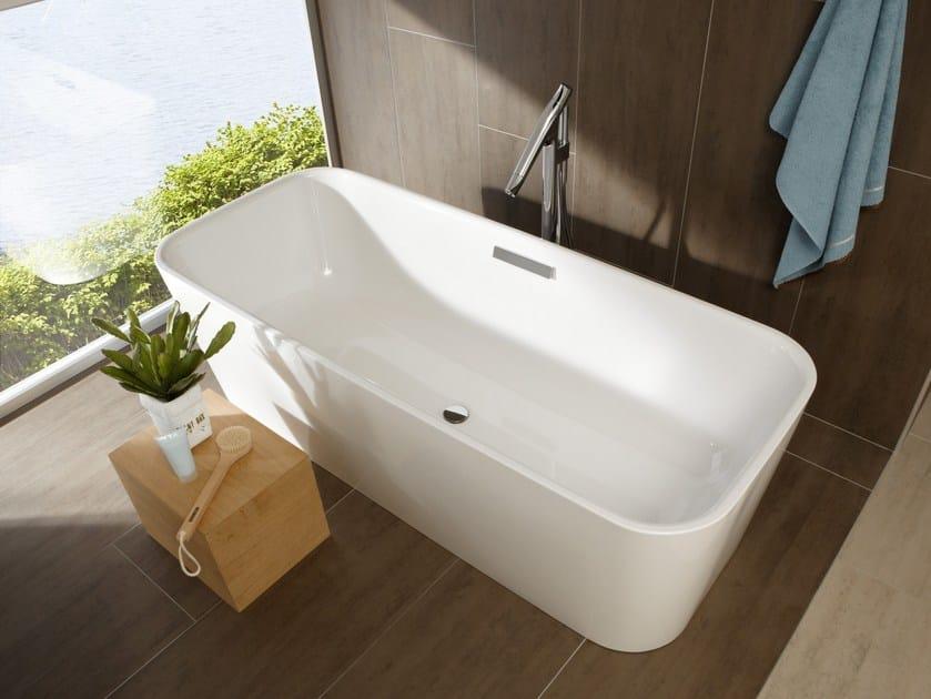 Freestanding enamelled steel bathtub BETTEART - Bette