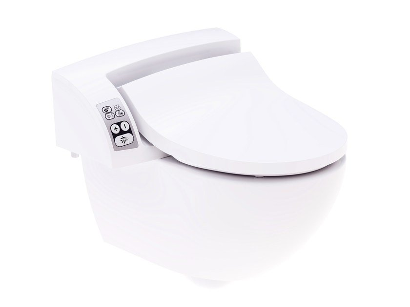 Ceramic toilet with bidet AQUACLEAN 5000 - Geberit Italia