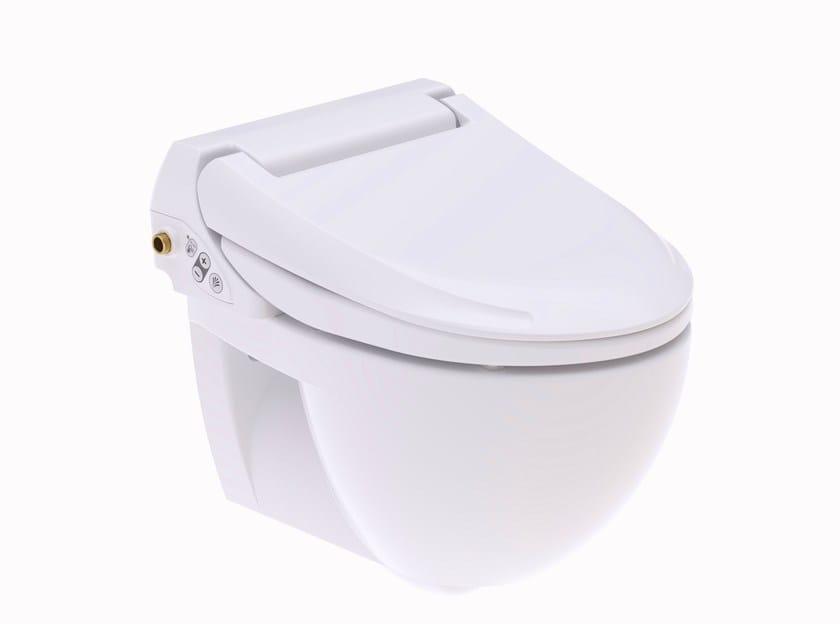 Ceramic toilet with bidet AQUACLEAN 4000 - Geberit Italia