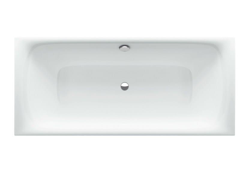 Vasca da bagno rettangolare in acciaio smaltato bettelux silhouette bette - Vasche da bagno in acciaio smaltato ...