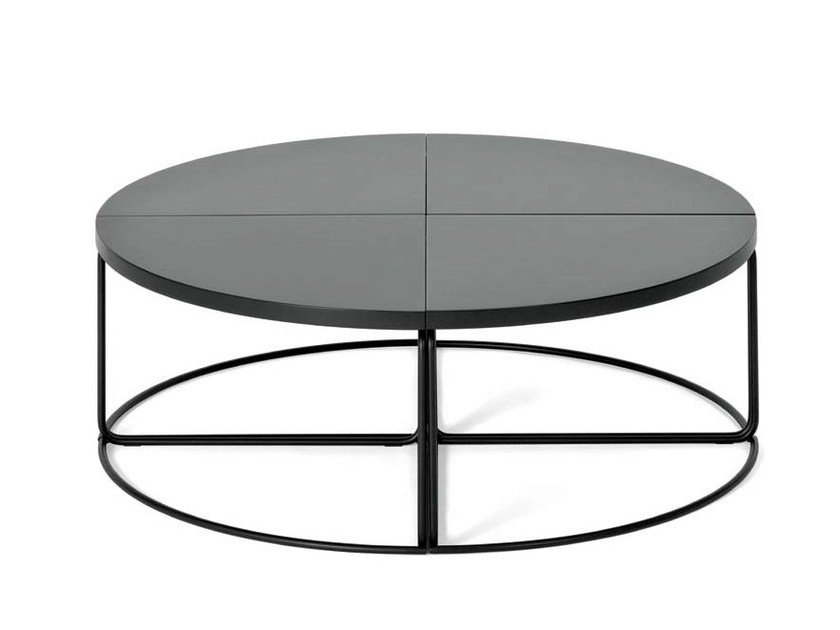 Dl1 table basse ronde by loehr design david l hr - Table ronde modulable ...