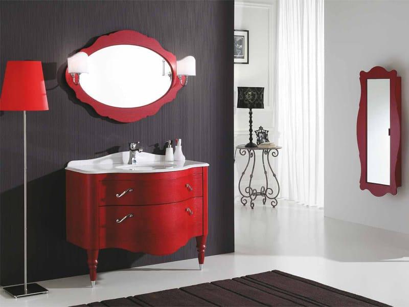 Vanity unit with drawers DECÒ D04 - LEGNOBAGNO