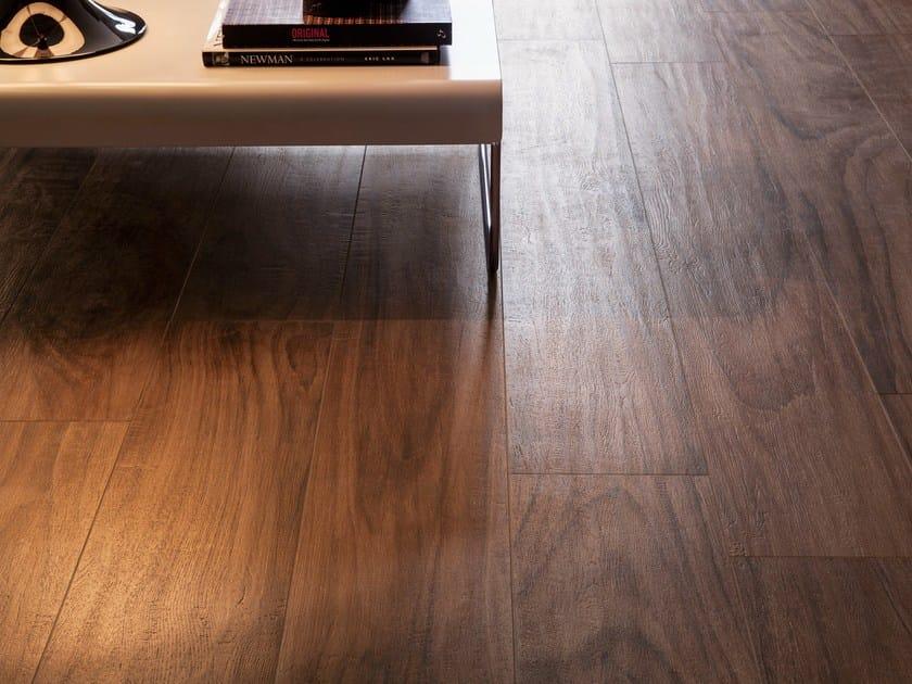Pavimento rivestimento in gres porcellanato effetto legno for Pavimento ceramica effetto parquet