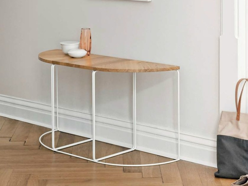 Design wooden console table DL1 | Wooden console table - LOEHR