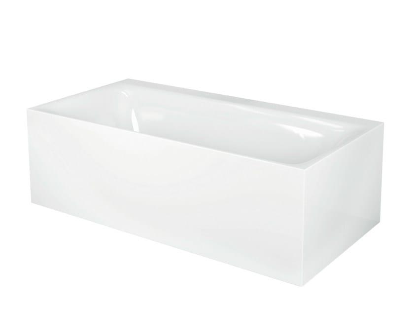 Vasca da bagno in acciaio smaltato bettelux iv silhouette side bette - Vasche da bagno in acciaio smaltato ...