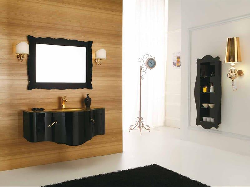 Wall-mounted vanity unit DECÒ D05 - LEGNOBAGNO