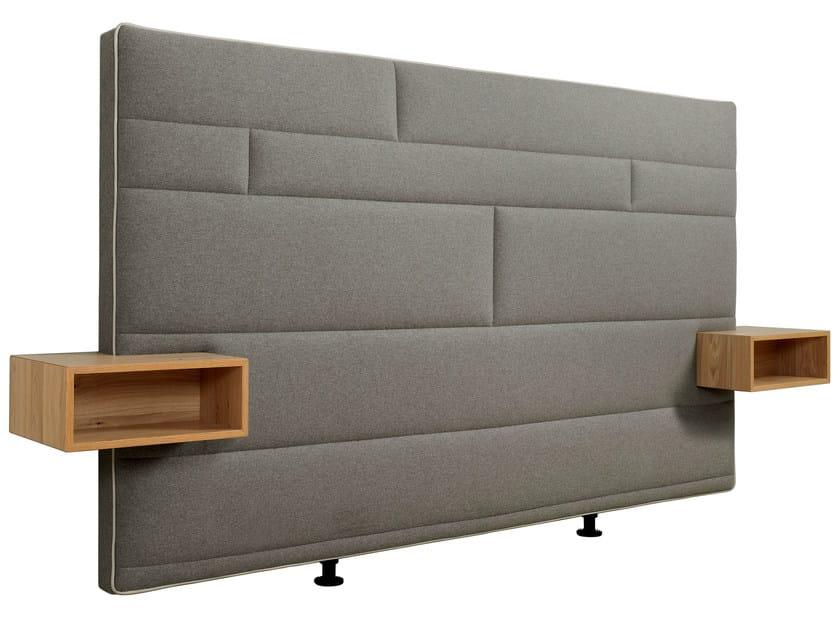 Upholstered headboard with integrated nightstands BOXSPRING SUITE DELUXE | Headboard with integrated nightstands - Hülsta-Werke Hüls
