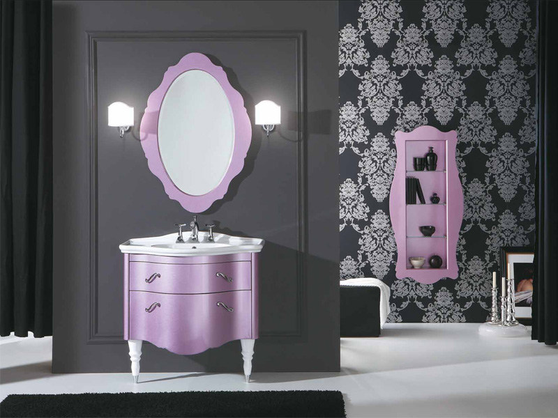 Vanity unit with drawers DECÒ D06 by LEGNOBAGNO