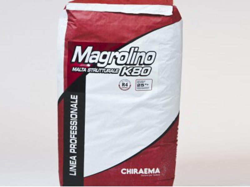 Fibre reinforced mortar MAGROLINO K80 FLUID - CHIRAEMA