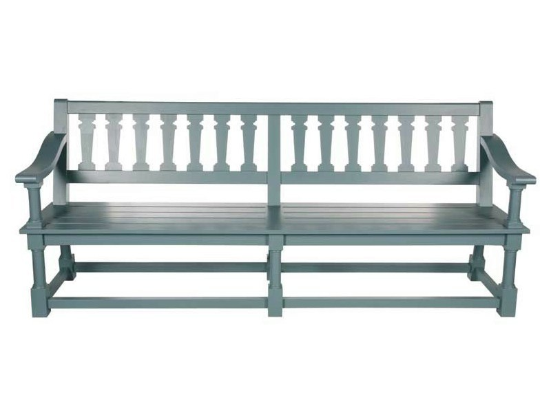 Wooden garden bench with armrests MARLY by Tectona