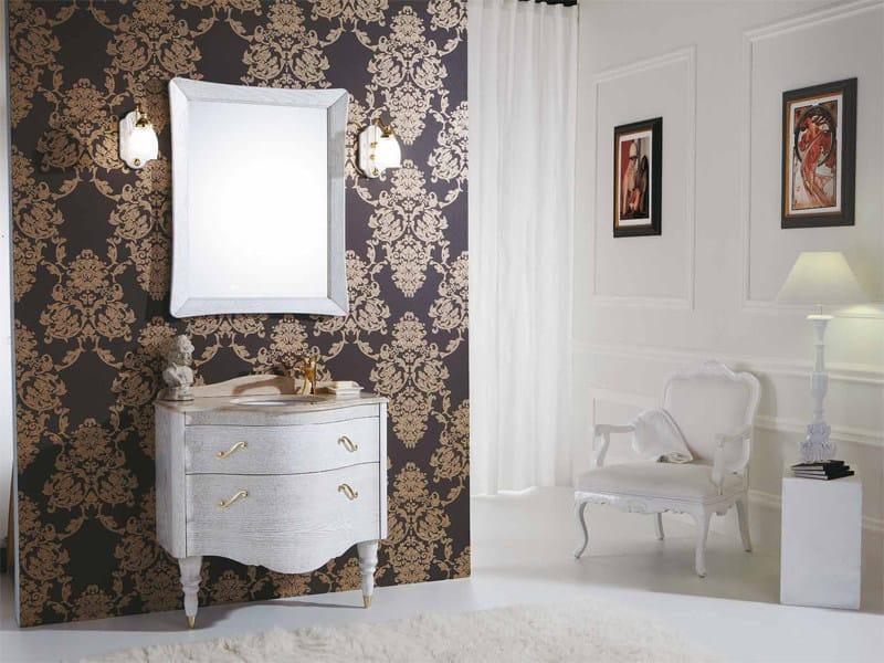 Wooden vanity unit with drawers DECÒ D08 - LEGNOBAGNO