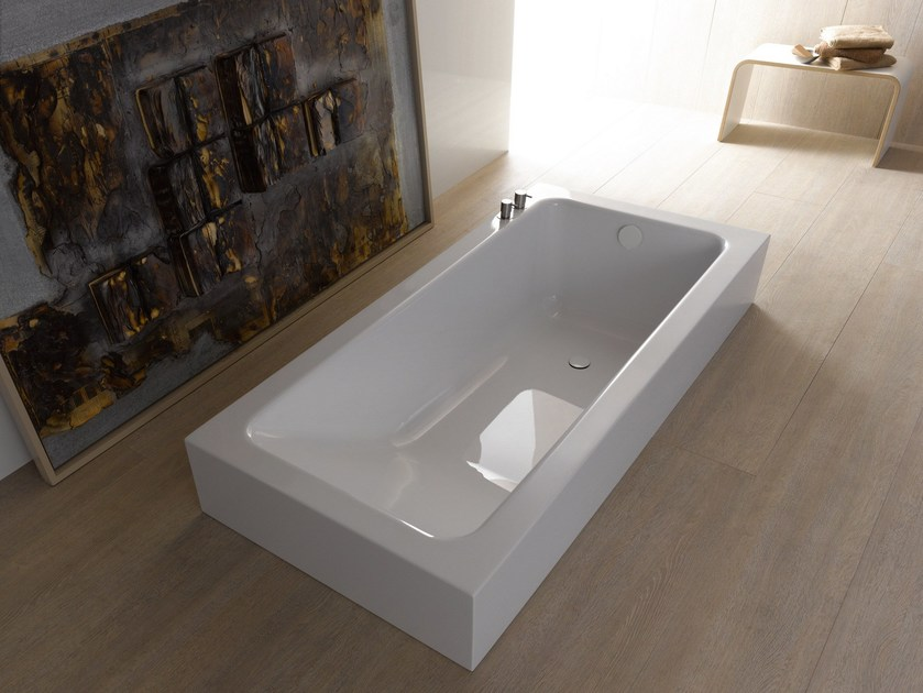 Semi-inset bathtub BETTEONE RELAX HIGHLINE - Bette