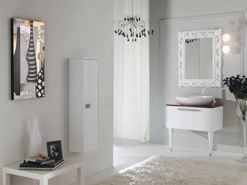 Lacquered vanity unit with drawers DECÒ D15 - LEGNOBAGNO
