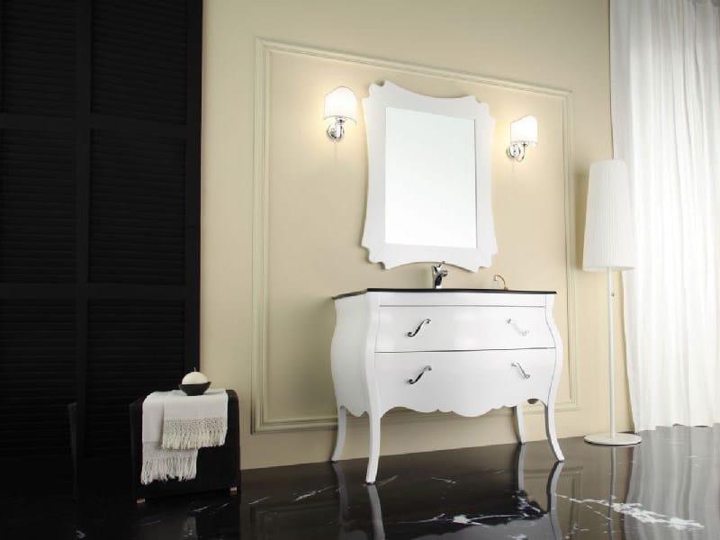 Wooden vanity unit with drawers VANITY 1 - LEGNOBAGNO