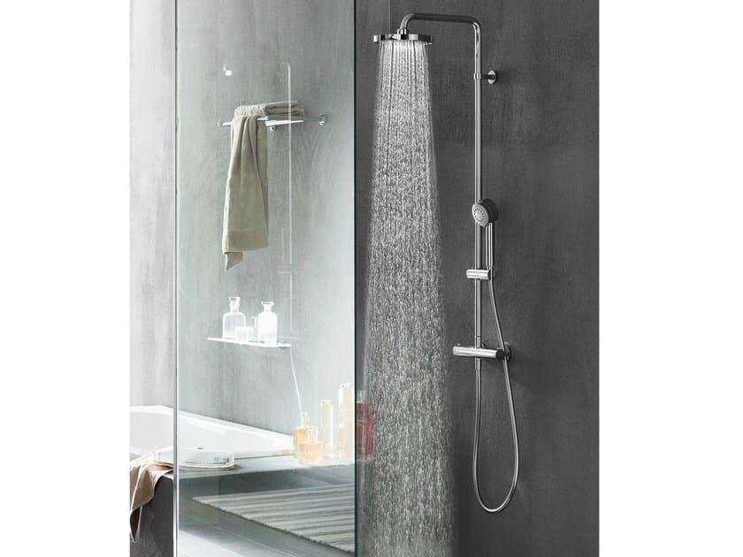 Colonna doccia a parete termostatica con soffione plus - Soffione della doccia ...