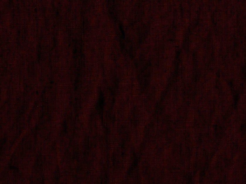Solid-color washable linen fabric MALTA - KOHRO