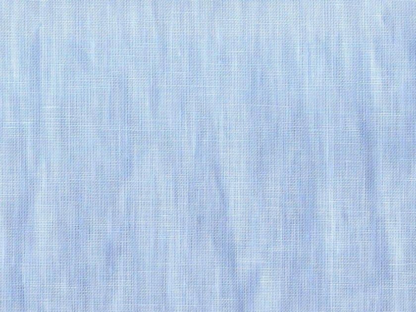 Solid-color washable linen fabric TARASCONA - KOHRO