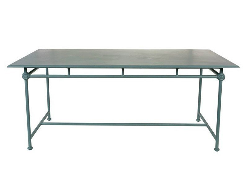 Rectangular aluminium garden table 1800 | Rectangular table - Tectona