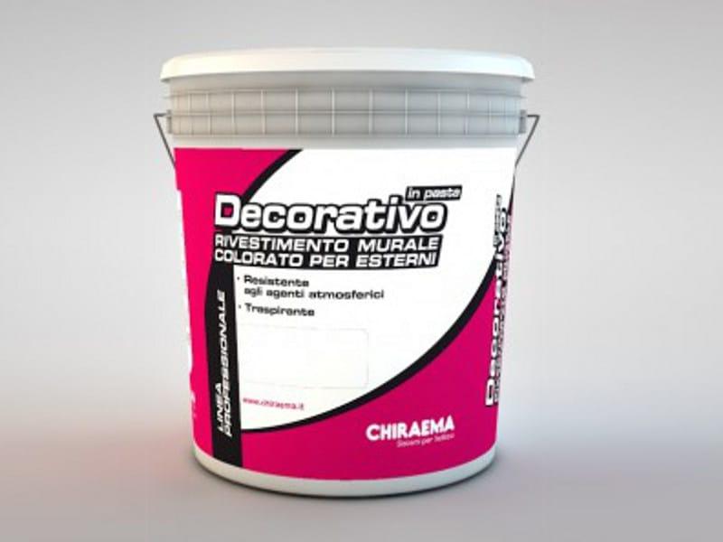 Protection for plasters DECORATIVO IN PASTA - CHIRAEMA