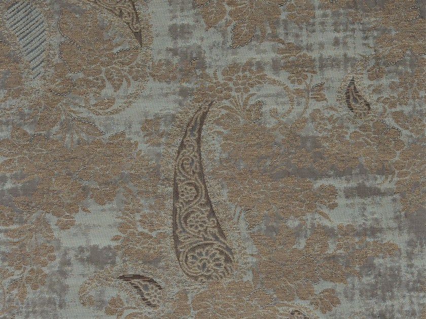 Damask cotton fabric DORRIT MEWS RECTO - KOHRO