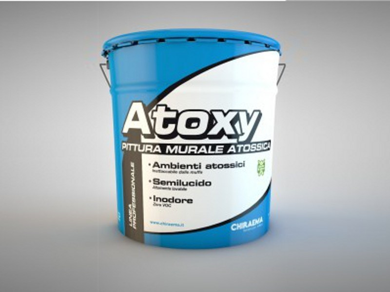 Washable water-based paint ATOXY by CHIRAEMA