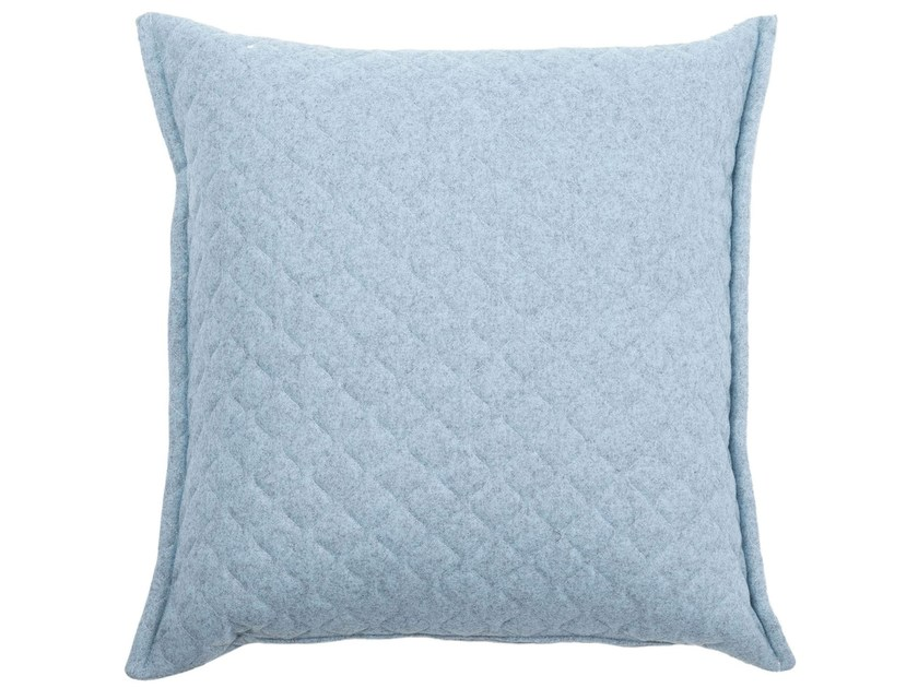 Wool cushion with removable cover QUILT - True Design