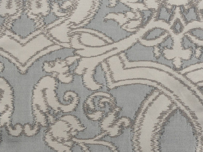Damask cotton fabric TONGA SUITES VERSO - KOHRO