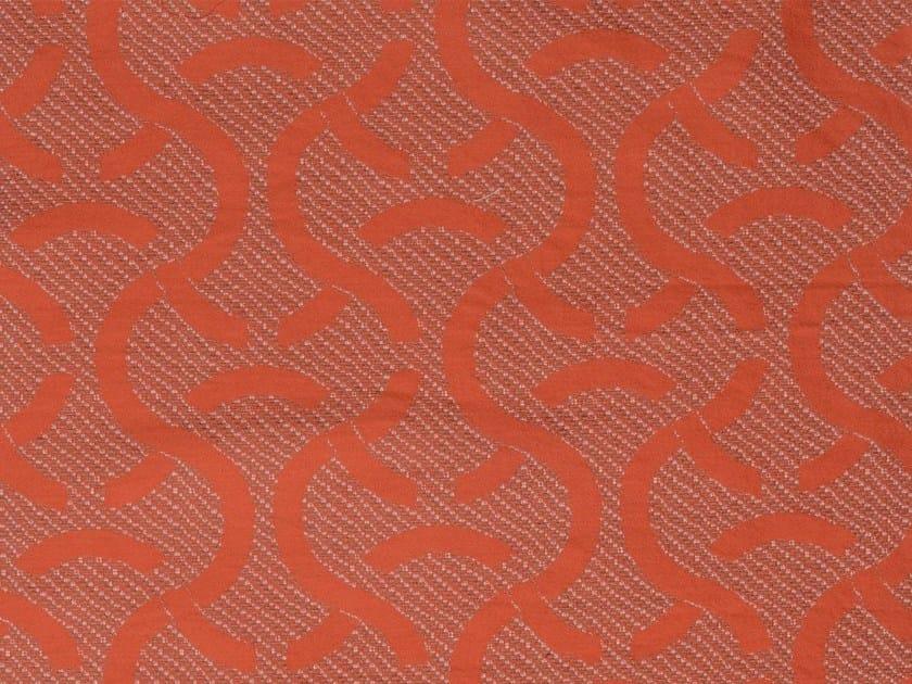 Damask cotton fabric SYLT VERSO - KOHRO