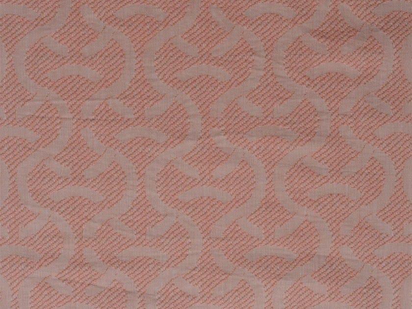 Damask cotton upholstery fabric SYLT RECTO - KOHRO