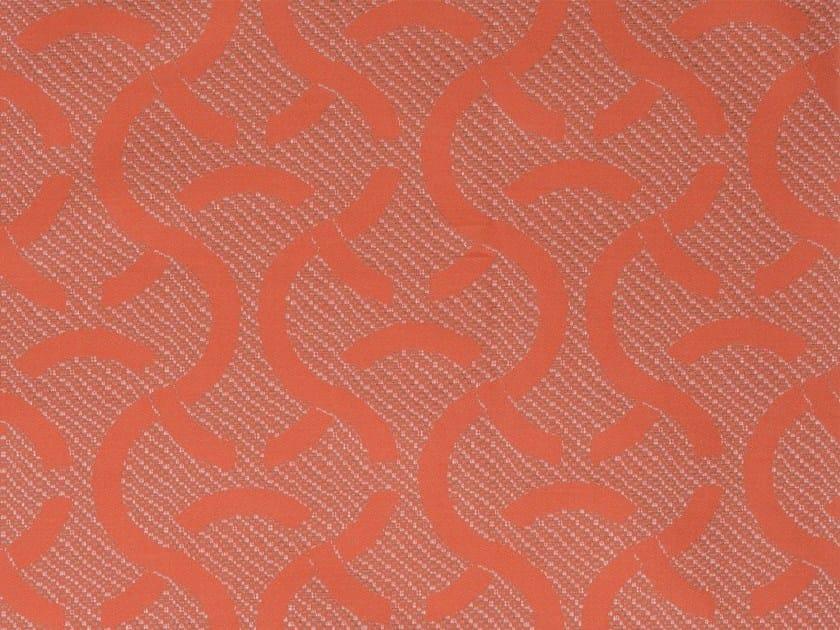 Damask cotton fabric TINNUM VERSO - KOHRO