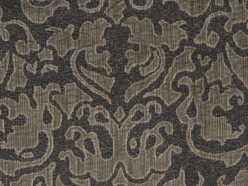 Damask cotton fabric EUTERPE VERSO - KOHRO