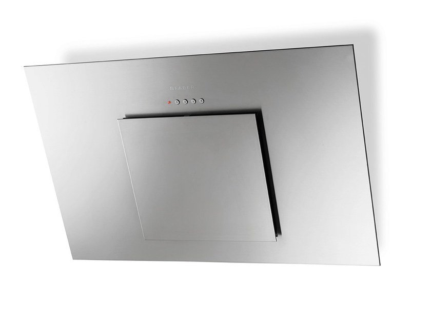 Wall-mounted stainless steel cooker hood CITY | Stainless steel cooker hood - FABER