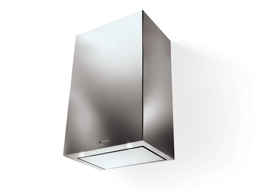 Wall-mounted stainless steel cooker hood CUBIA | Wall-mounted cooker hood - FABER