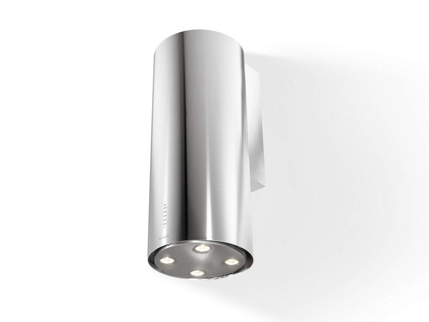 Wall-mounted stainless steel cooker hood CYLINDRA | Wall-mounted cooker hood - FABER