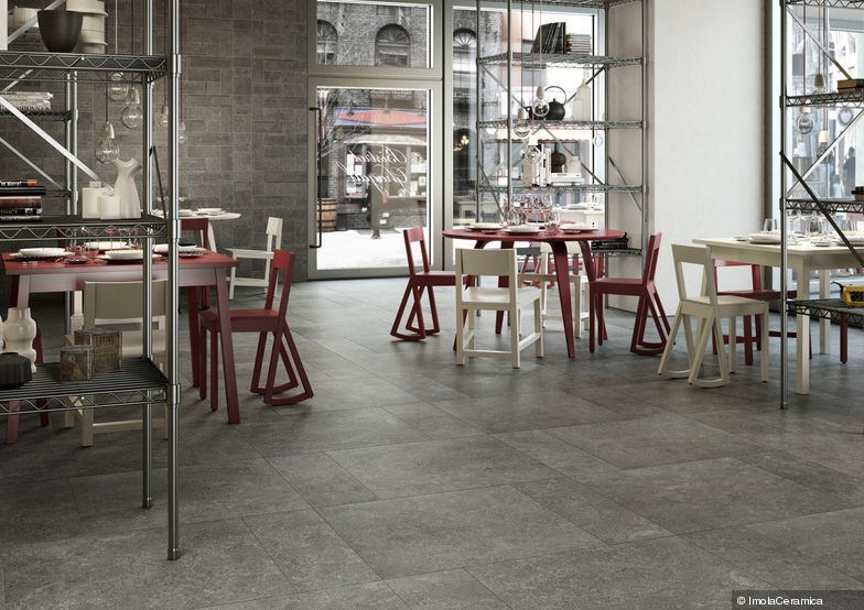 Full-body porcelain stoneware wall tiles / flooring Opificio delle pietre by Ceramica d'Imola