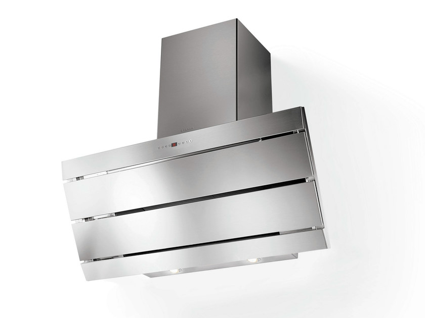 Wall-mounted stainless steel cooker hood ORIZZONTE PLUS | Stainless steel cooker hood - FABER