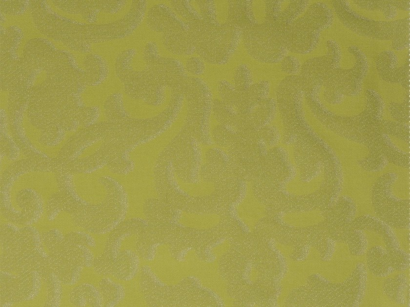 Damask cotton fabric CHISWICK RECTO - KOHRO