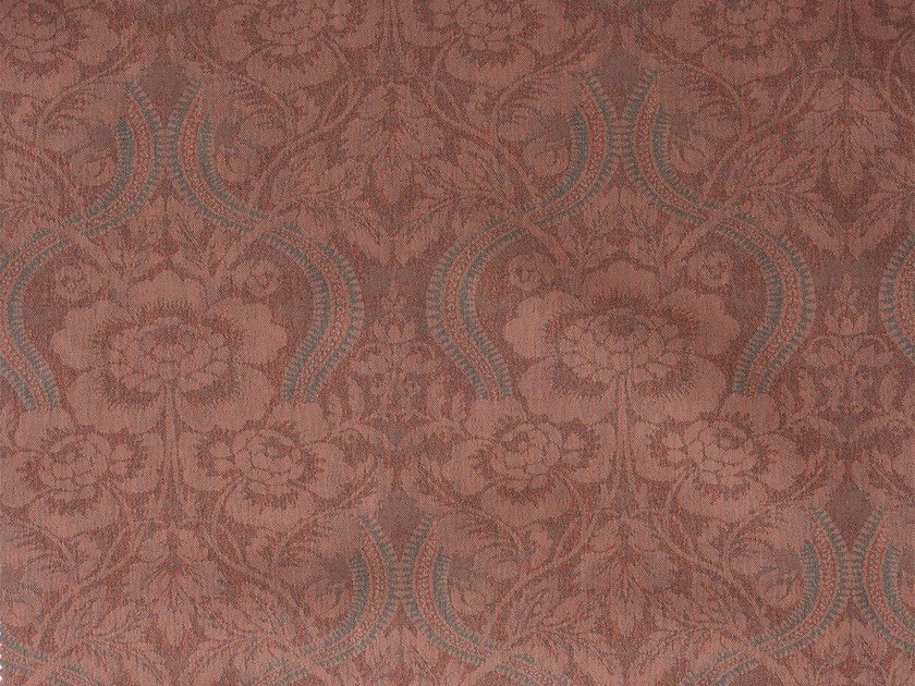 Damask cotton fabric LARAMIE RECTO by KOHRO