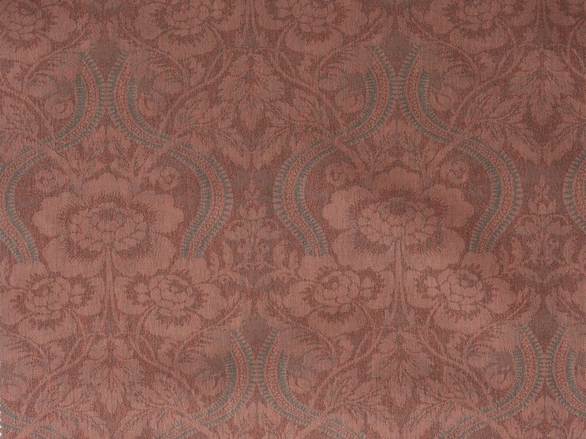 Damask cotton fabric LARAMIE RECTO - KOHRO