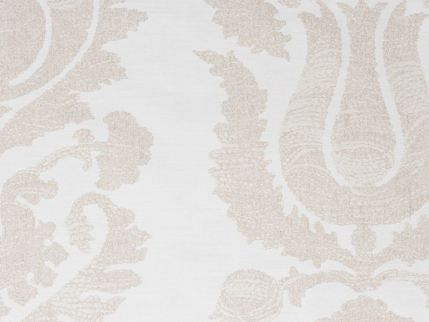 Damask cotton fabric GUINEVÉRE RECTO - KOHRO