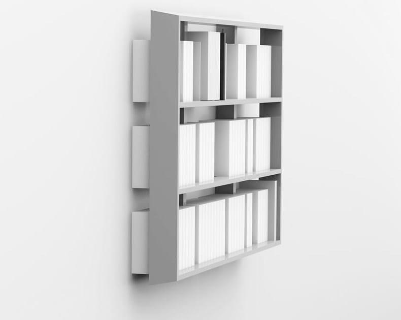 Libreria sospesa su misura in multistrato wall book for Libreria velux