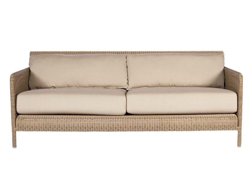 3 seater resin garden sofa SHANGHAI | 3 seater sofa - Tectona