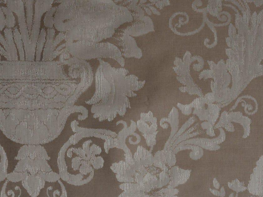 Damask cotton fabric POITIERS - KOHRO