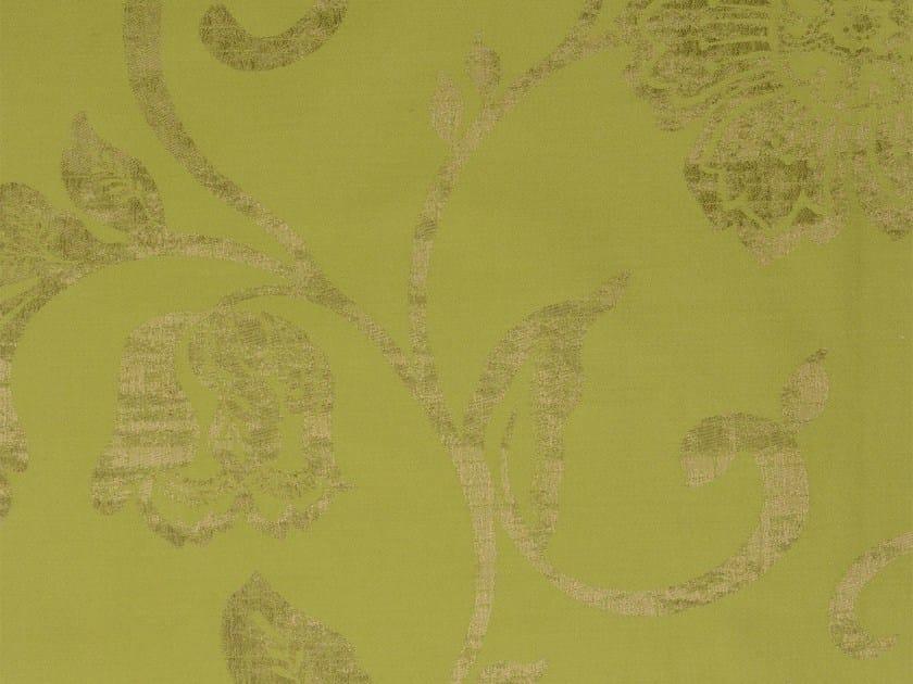 Damask cotton fabric GIRONDE - KOHRO