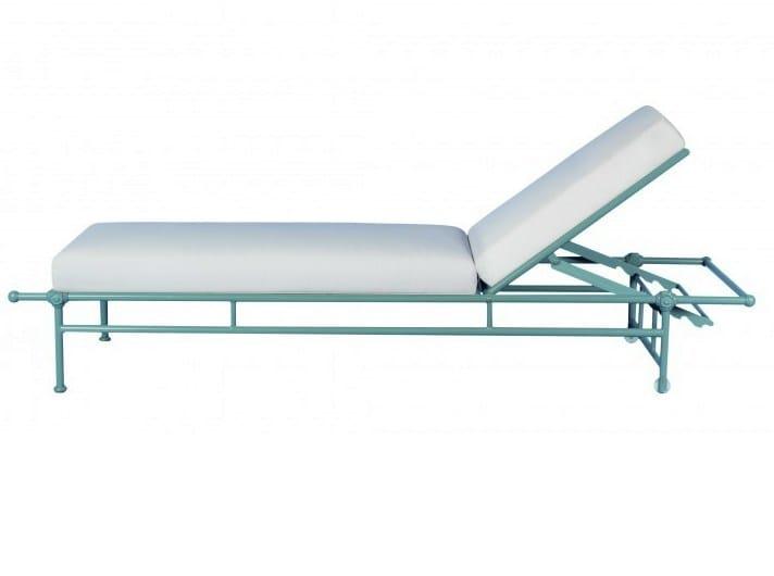 Recliner aluminium garden daybed 1800 | Garden daybed - Tectona